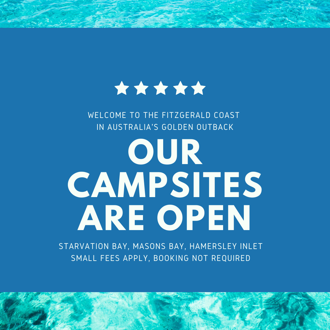 Fitzgerald Coast Campsites Open